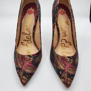 Sam Edelman Bird Print Pump